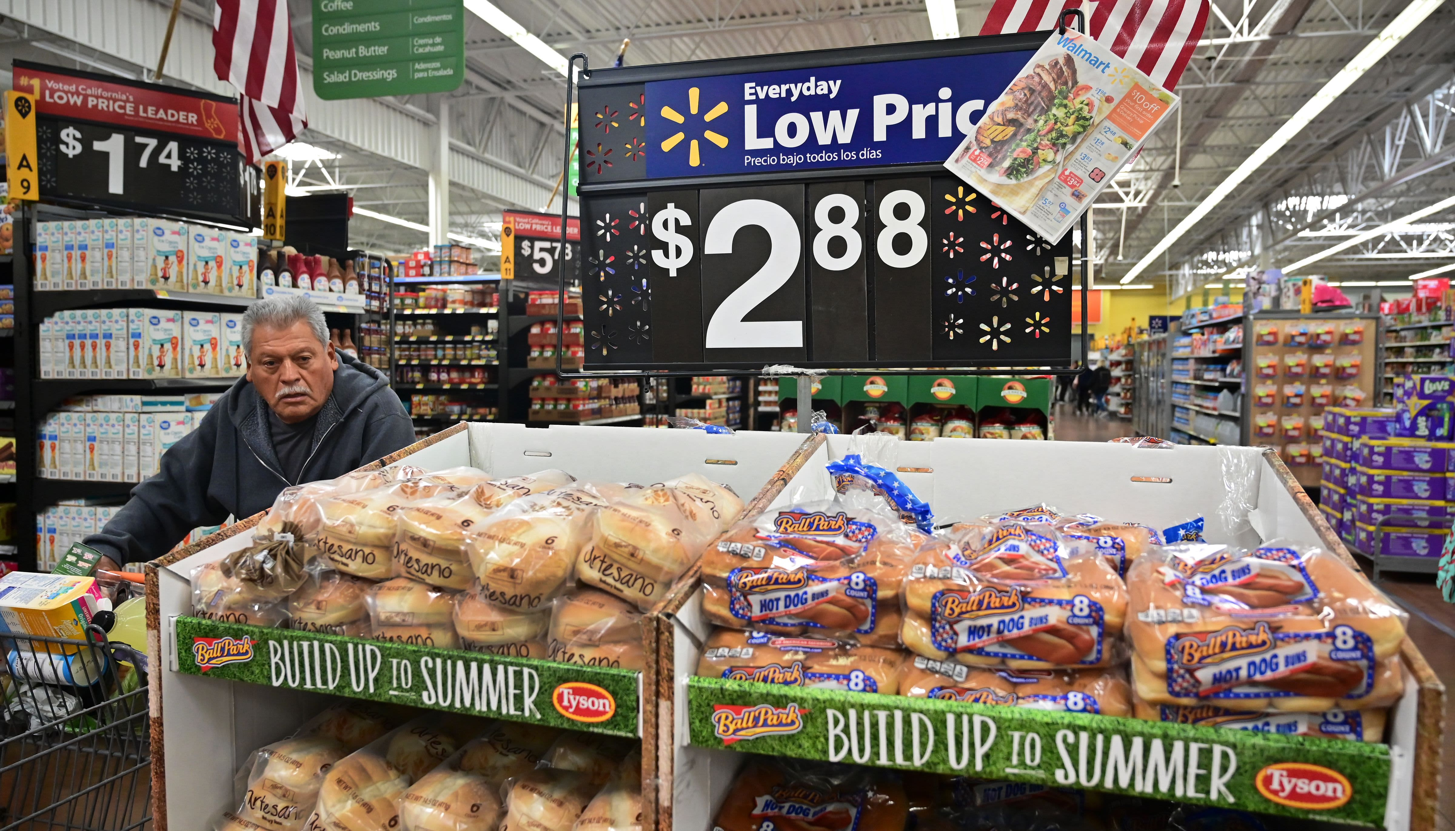US consumer prices rise a slight 0.1% in August