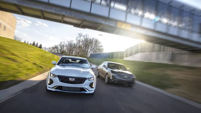Cadillac CT4 Sport and Premium models