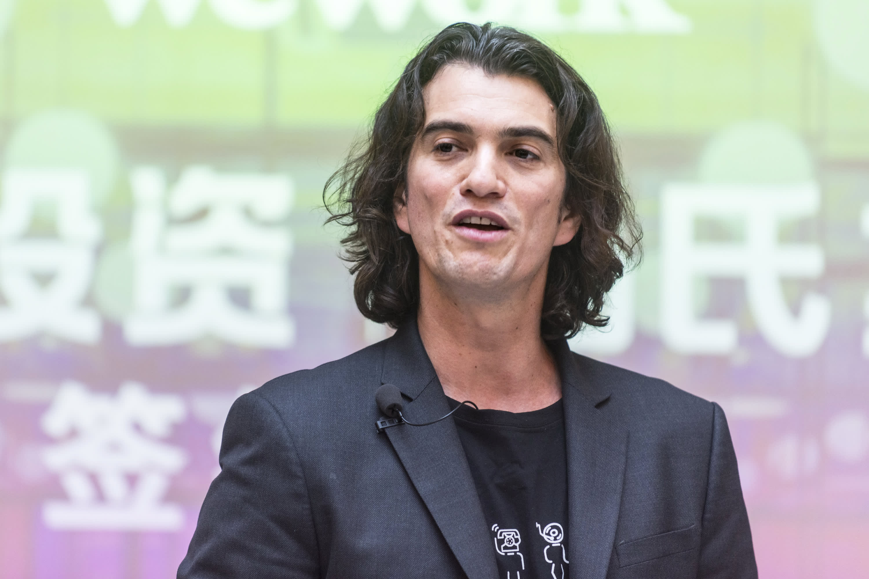 SoftBank's Masa Son is in favor of ousting WeWork CEO Adam Neumann
