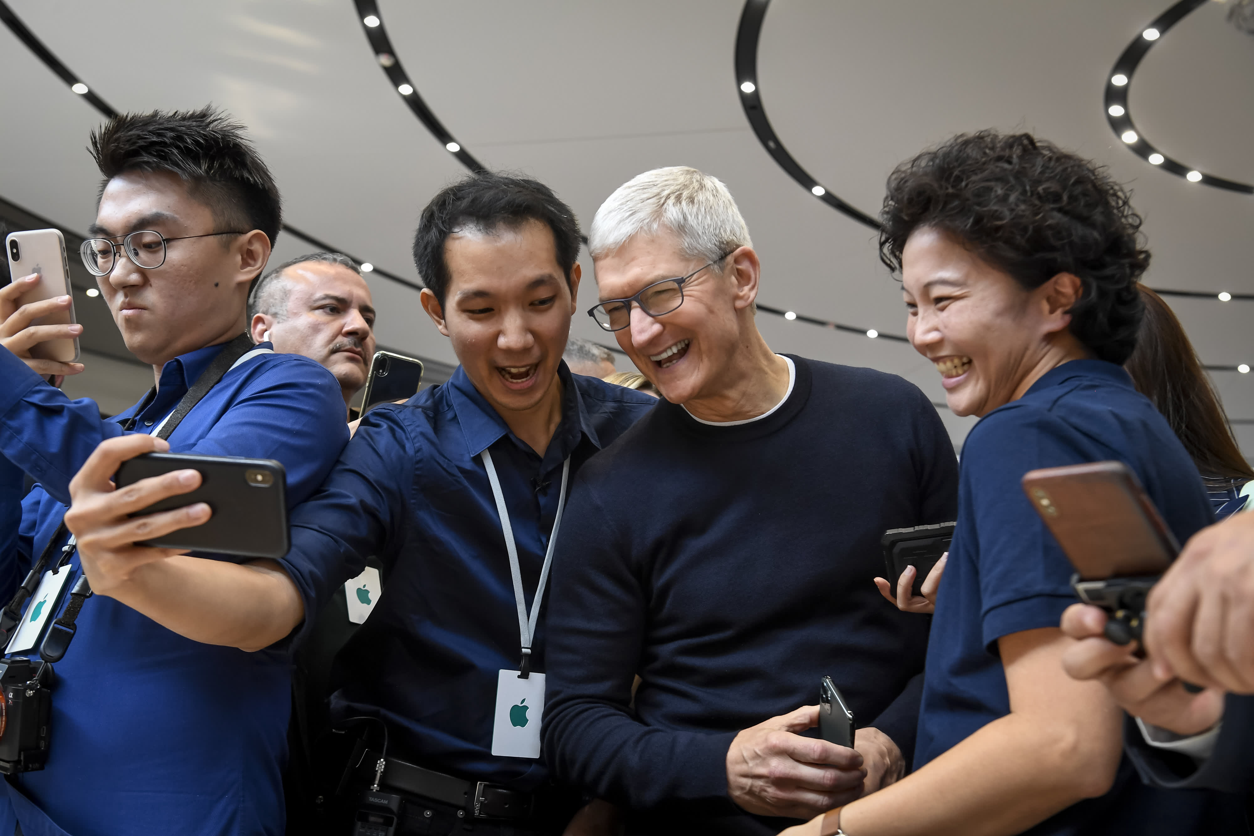 Apple shares upgraded on 'iPhone demand upside'