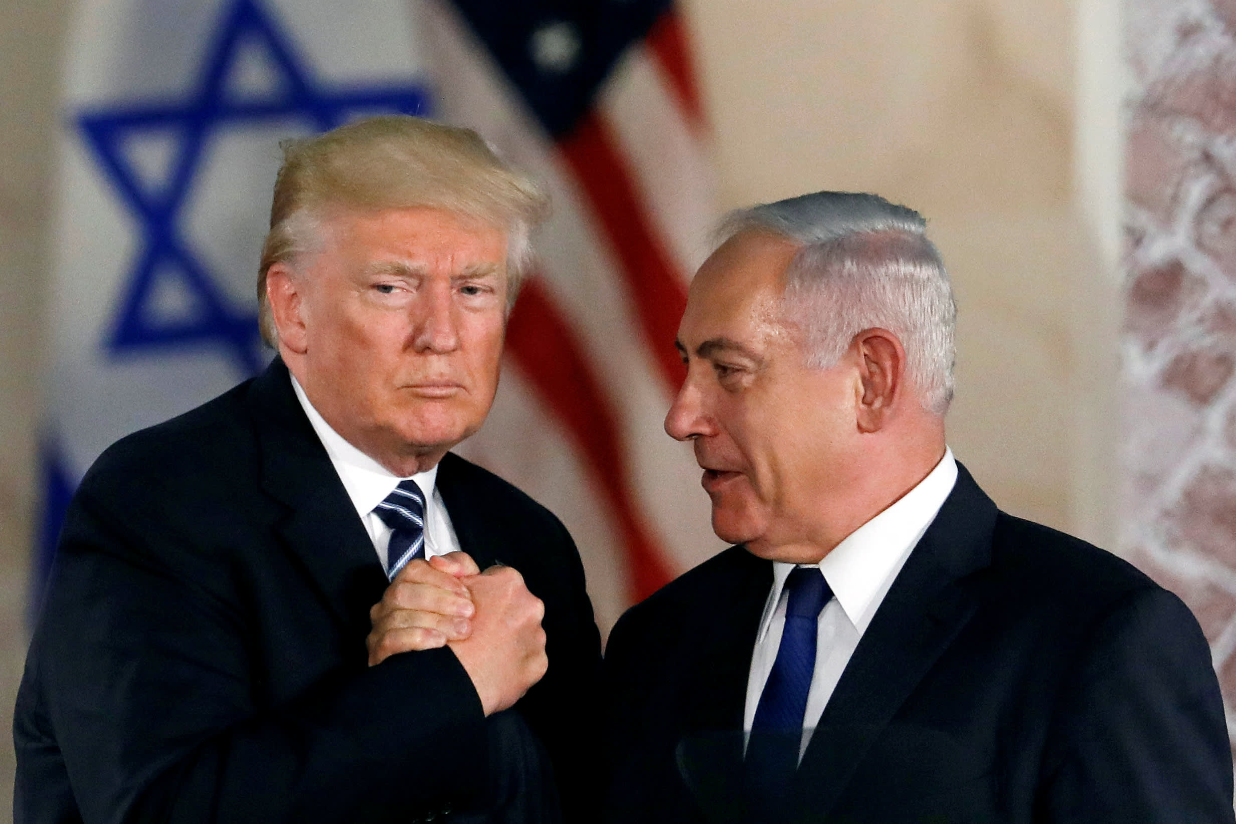 Trump says he discussed a mutual defense treaty with Israeli Prime Minister Benjamin Netanyahu