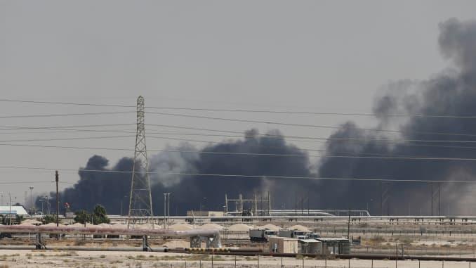 Saudi Aramco Facility Drone Attack 190914 EC
