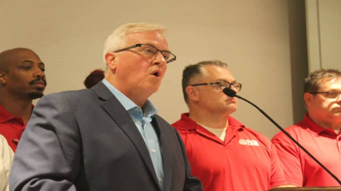 UAW Vice President Terry Dittes 1