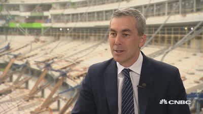 LA Rams chief operation officer on stadium naming rights deal with SoFi