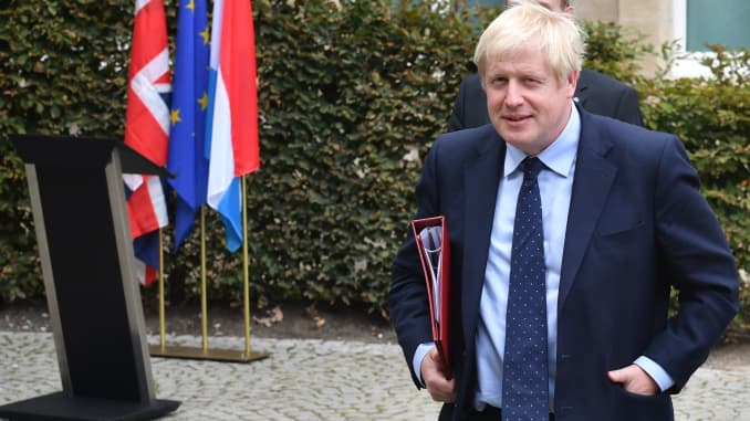GP: U.K. Prime Minister Boris Johnson Holds Brexit Talks 1