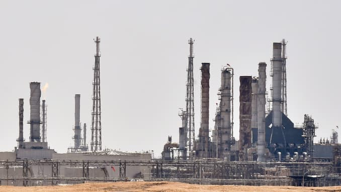 GP: Aramco oil facility Saudi Arabia 190719