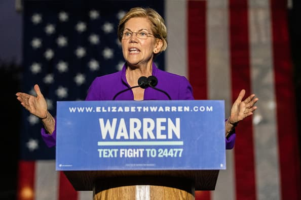 Elizabeth Warren's antitrust bill would dramatically enhance government control over the biggest US companies