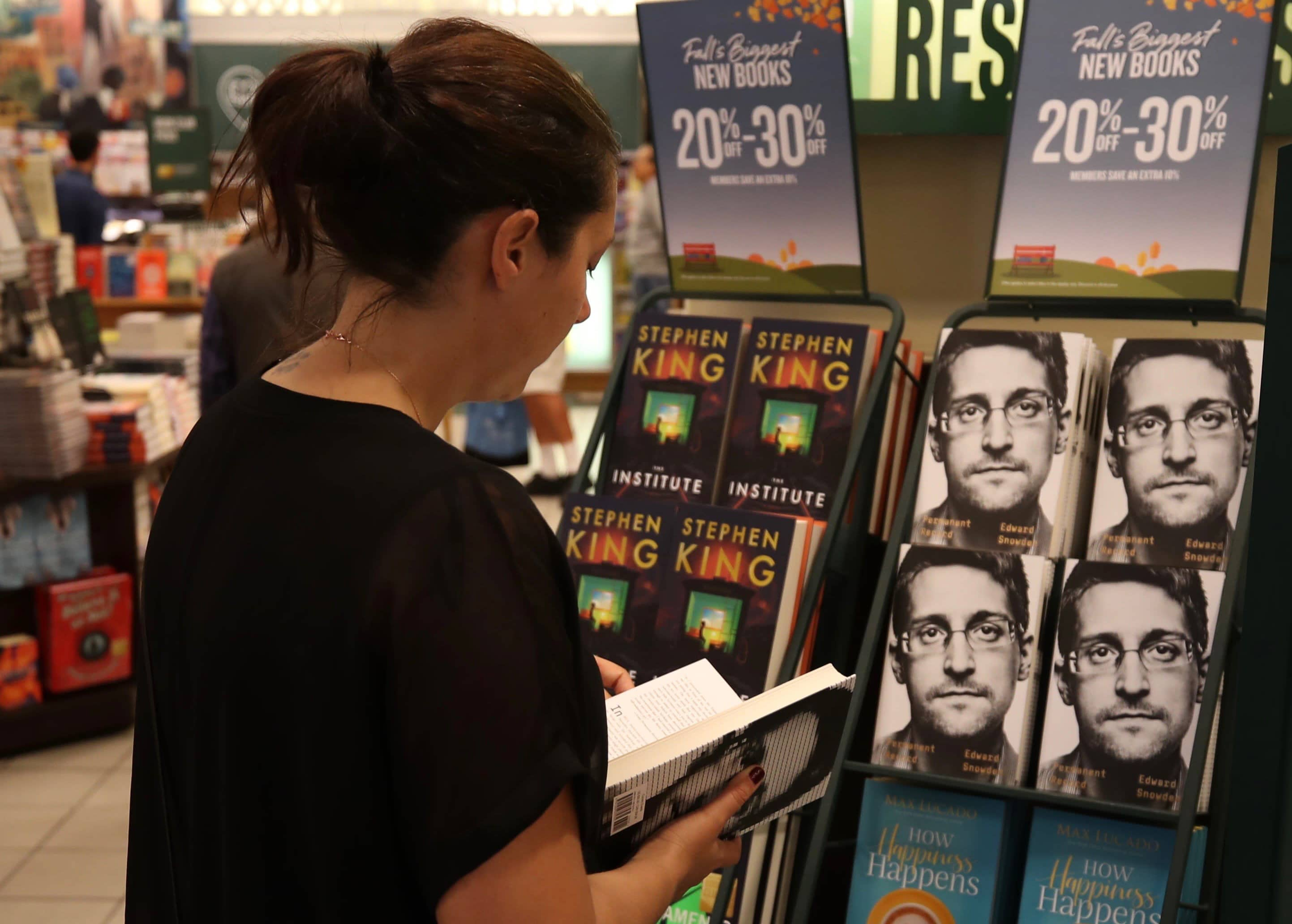 US sues Edward Snowden for failing to submit book to government for clearance