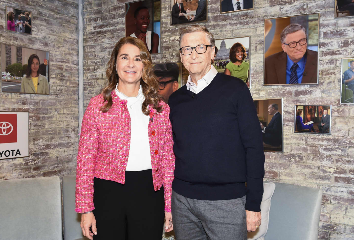 Bill and Melinda Gates: No matter where you're born, 'life will be harder if you are born a girl'