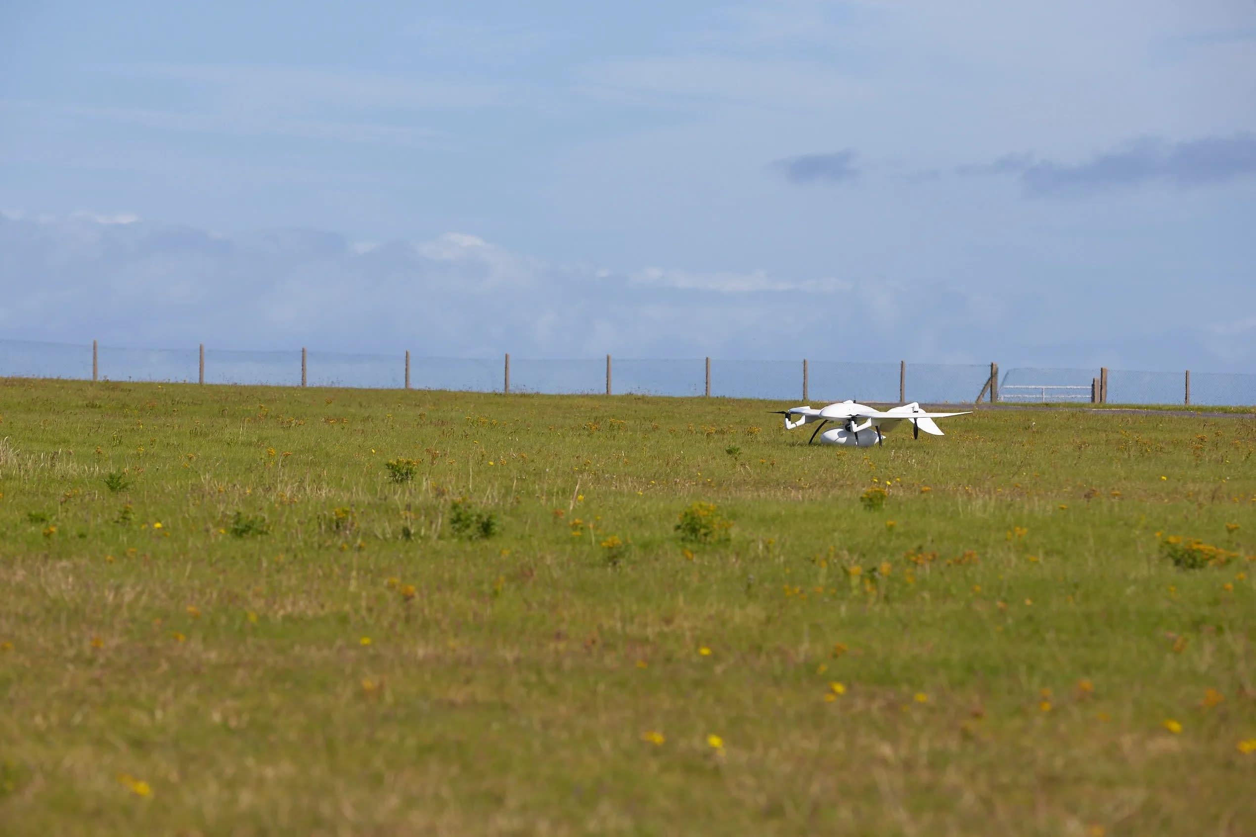 Autonomous drone delivers diabetes medication to a remote Irish island