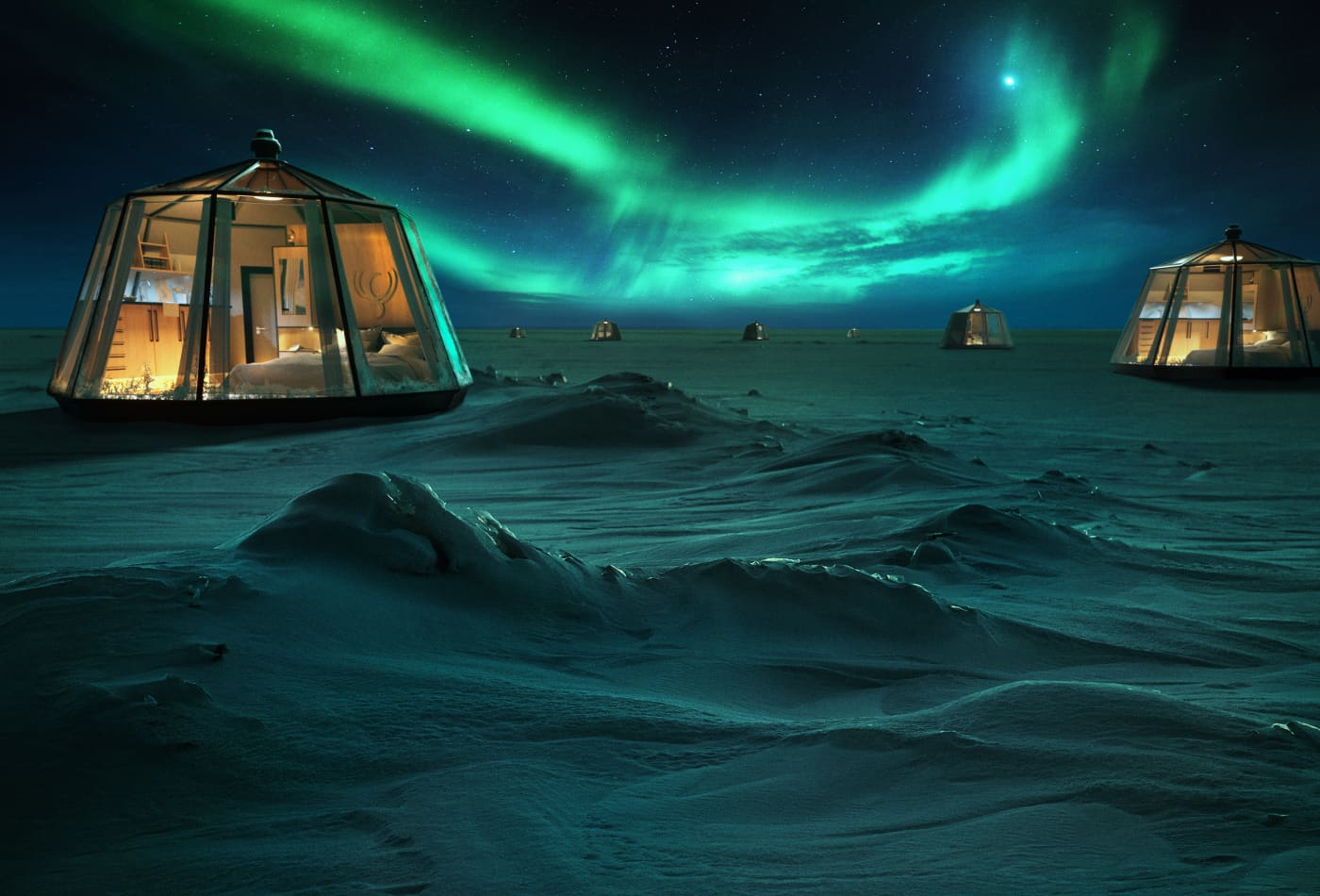 A new pop-up hotel in the North Pole will charge guests $100,000 to stay — take a look inside