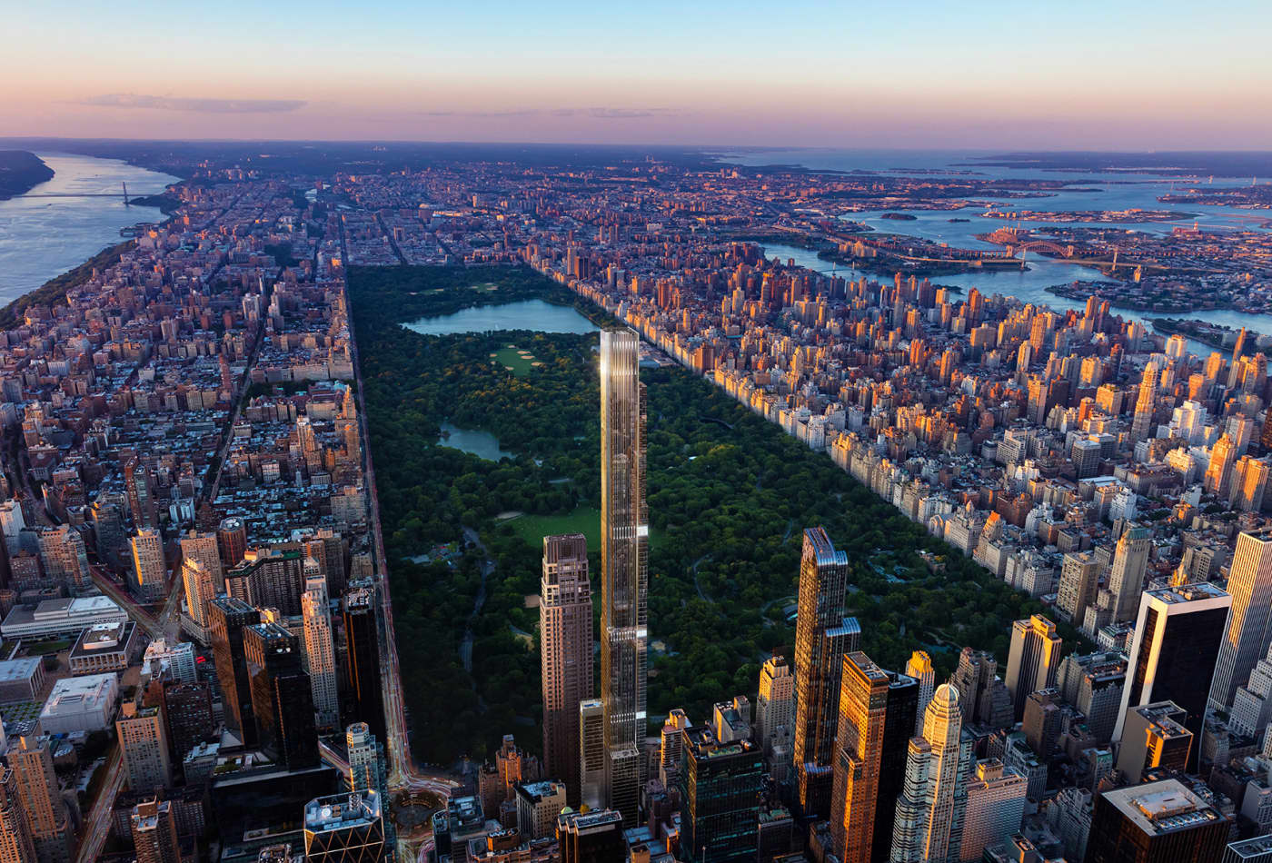 What it's like to live on the 123rd floor of the world's tallest condo tower