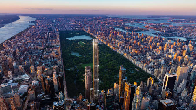Central Park Tower: World's tallest Condo