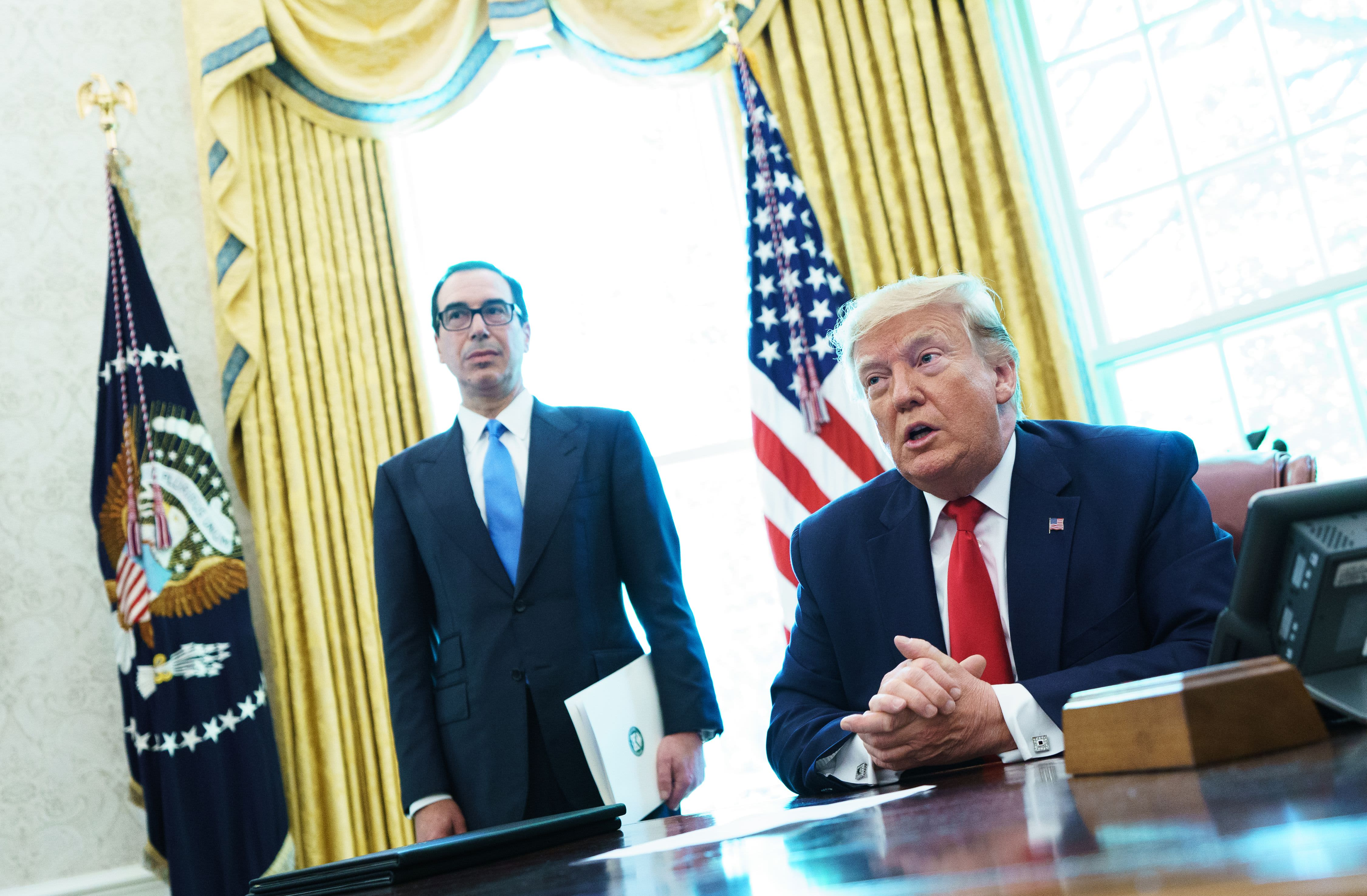 Trump orders Mnuchin to 'substantially increase' sanctions on Iran