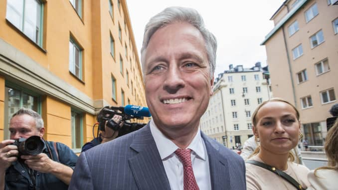 GP: Robert C. OBrien, special envoy sent by Donald Trump