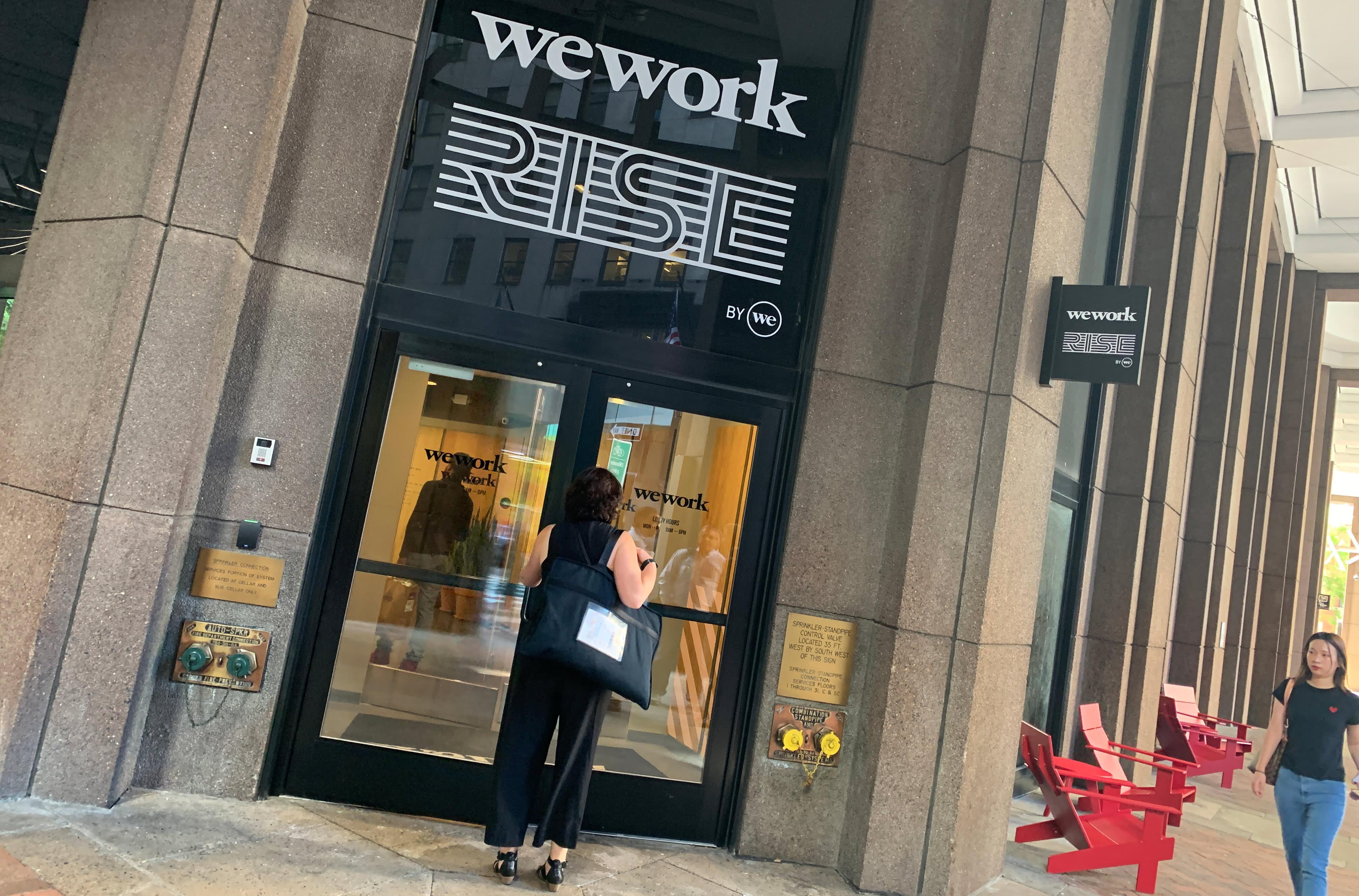 Nasdaq executive is 'bullish' on WeWork and hopes the company will go public eventually