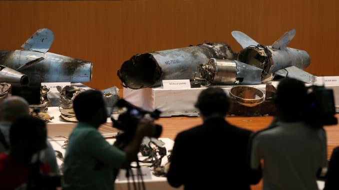 RT: Saudi Arabia presser Iran missiles