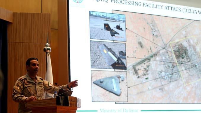 RT: Saudi Arabia Aramco drone attack
