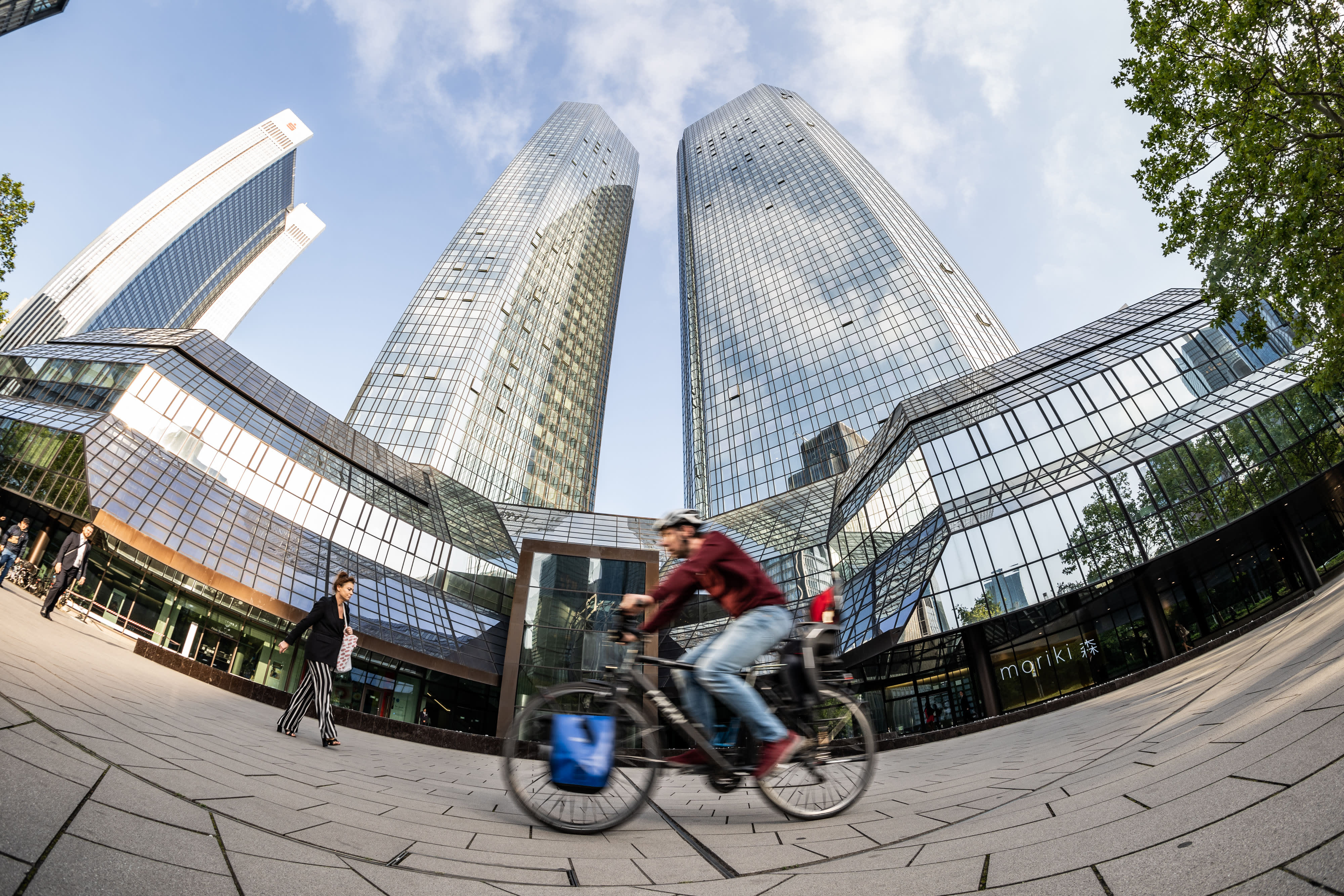 Deutsche Bank buys stake in a fintech company months after major restructuring