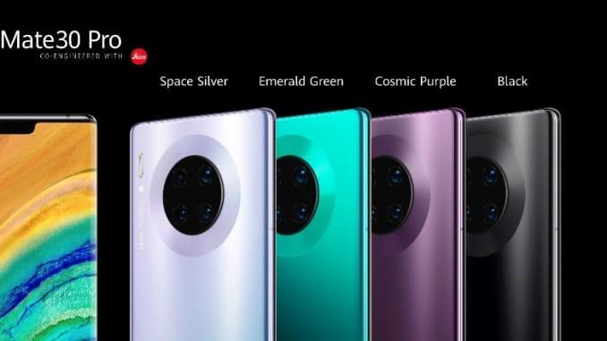 H/O: Huawei Mate 30