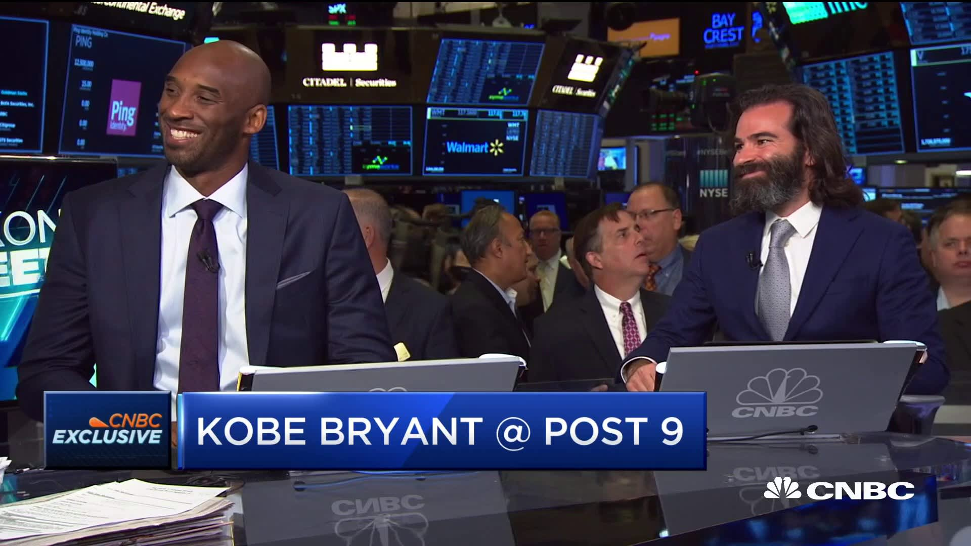 Kobe Bryant And Jeff Stibel On The Growth Of Their Venture Capital Fund