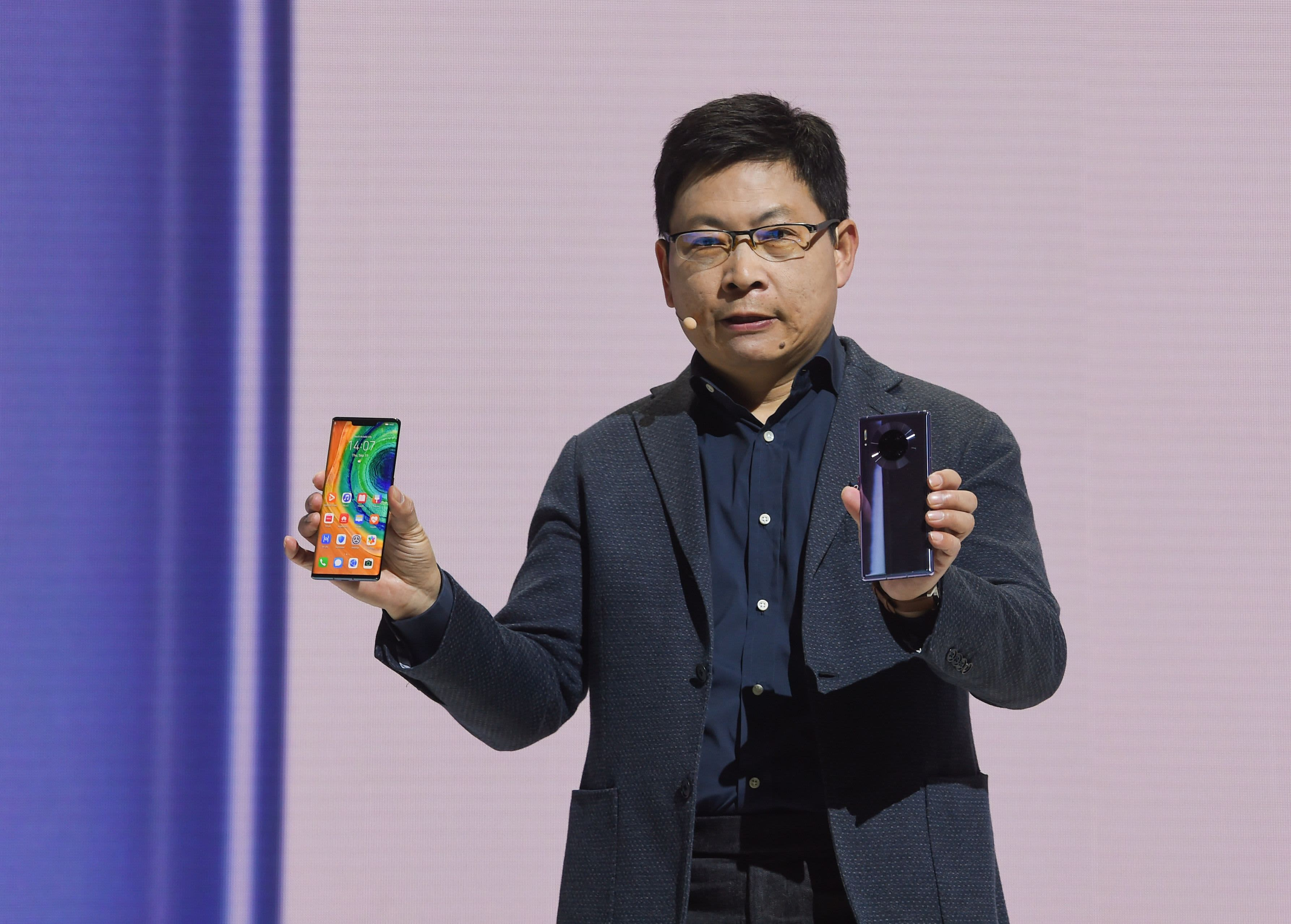 Huawei unveils its new 5G flagship phone without Google-licensed apps