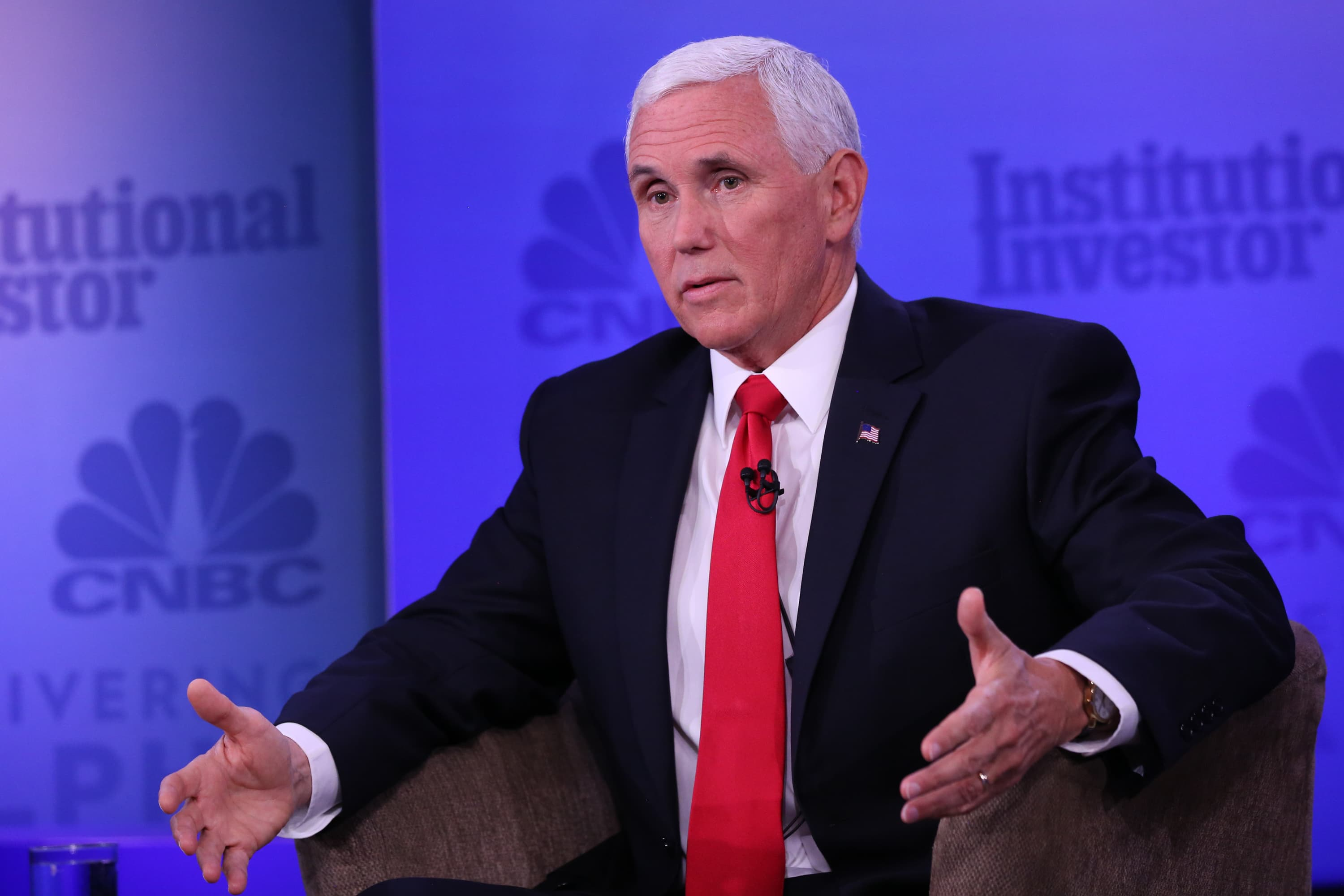 Pence says other countries should 'emulate' US economic policies to catch up