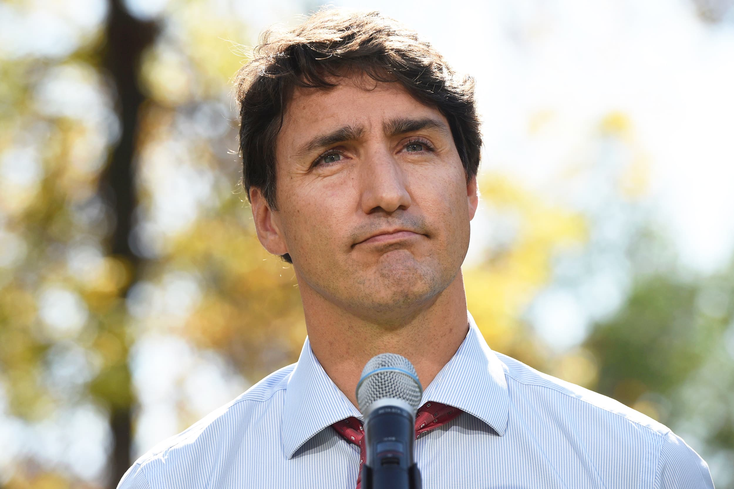 Canada's Trudeau apologizes for racist photos but does not rule out possibility there are more