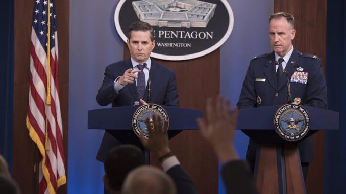 HO: Pentagon briefing Hoffman and Col Ryder