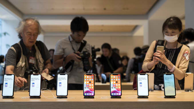 GP: Apple lines Tokyo