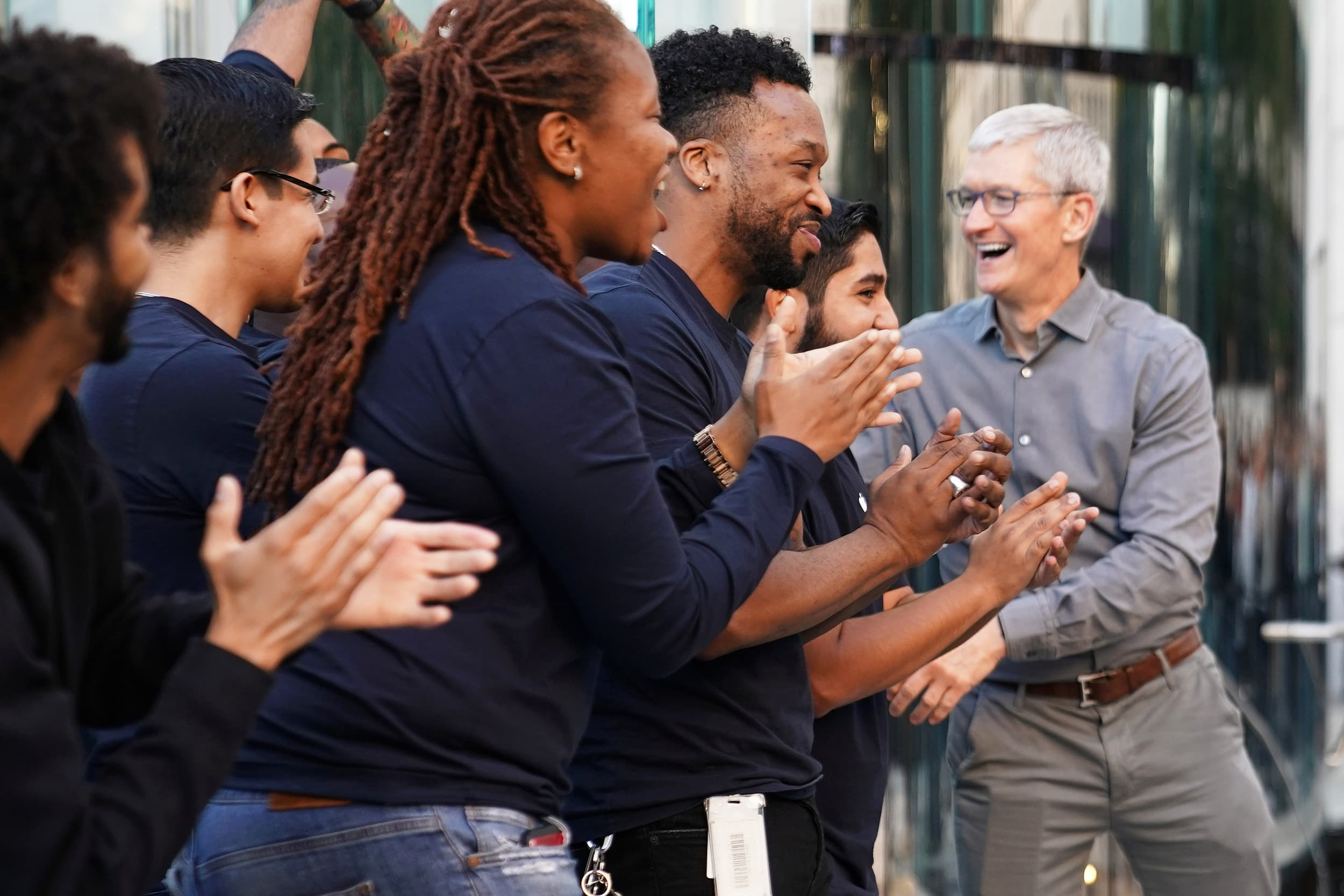 Apple is on fire and helping the chip stocks rally, Jim Cramer says