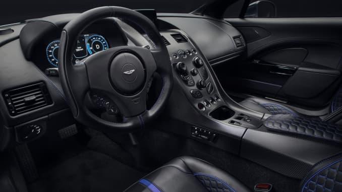 H/O: Aston Martin Rapide E interior 190920