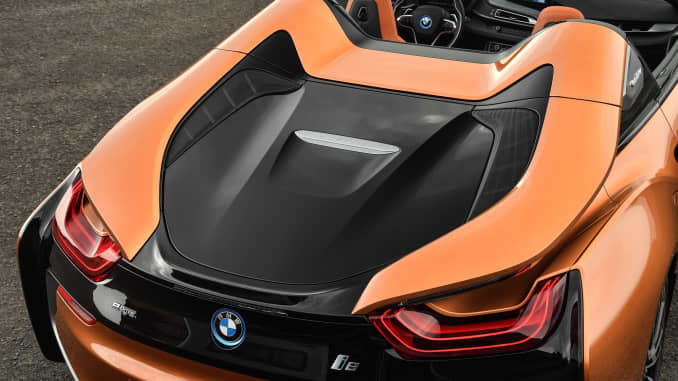 H/O: BMW i8 roadster rear 190920