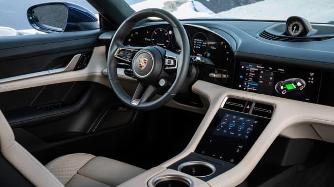 H/O: Porsche Taycan interior 190920