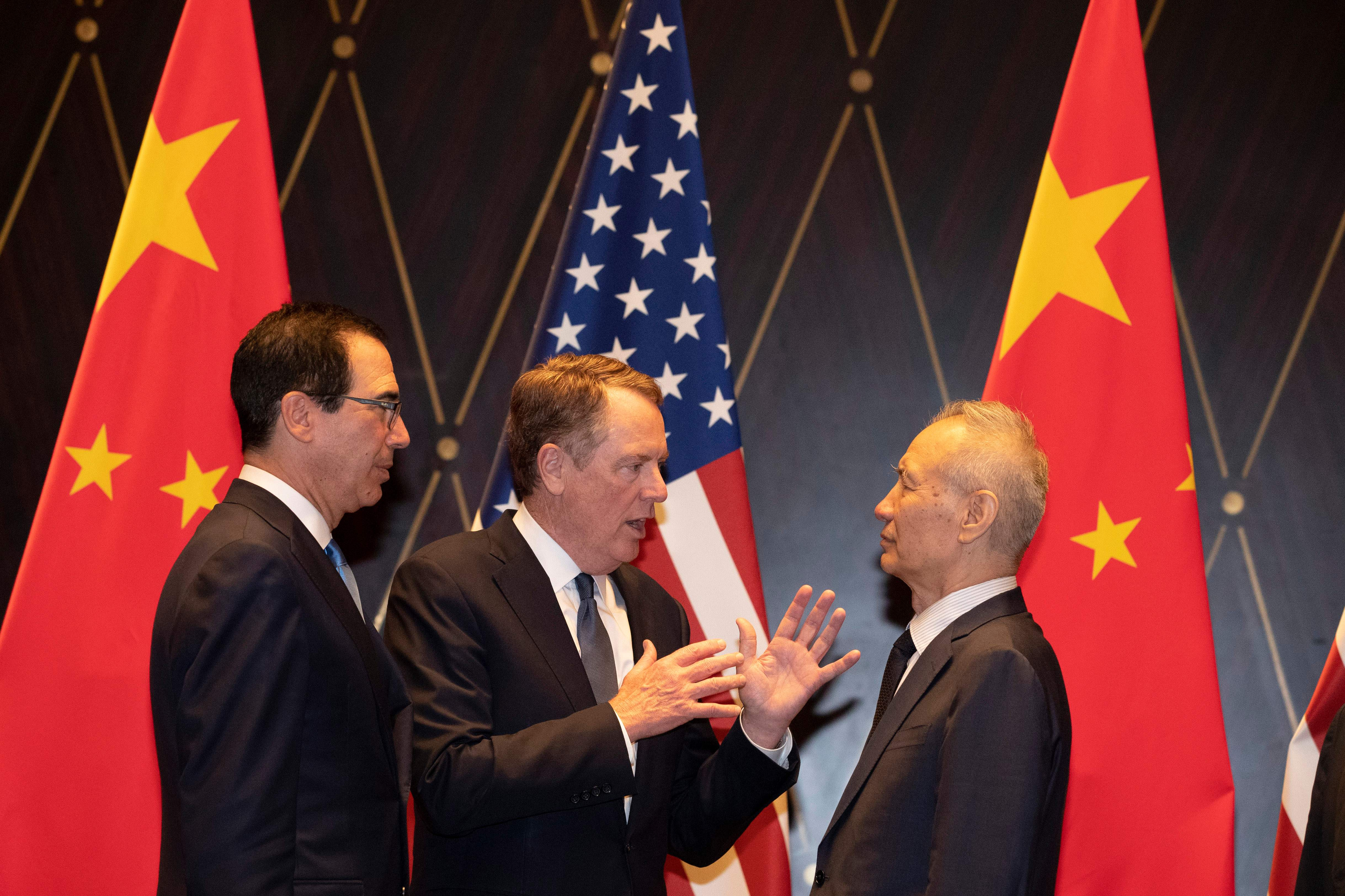 China trade talks are set to resume on Oct. 10