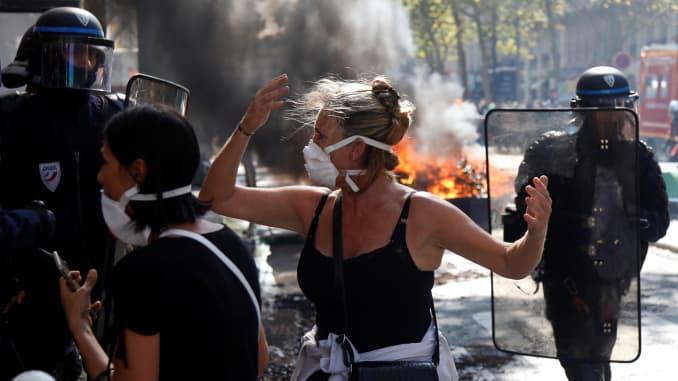 France Paris Protest Climate