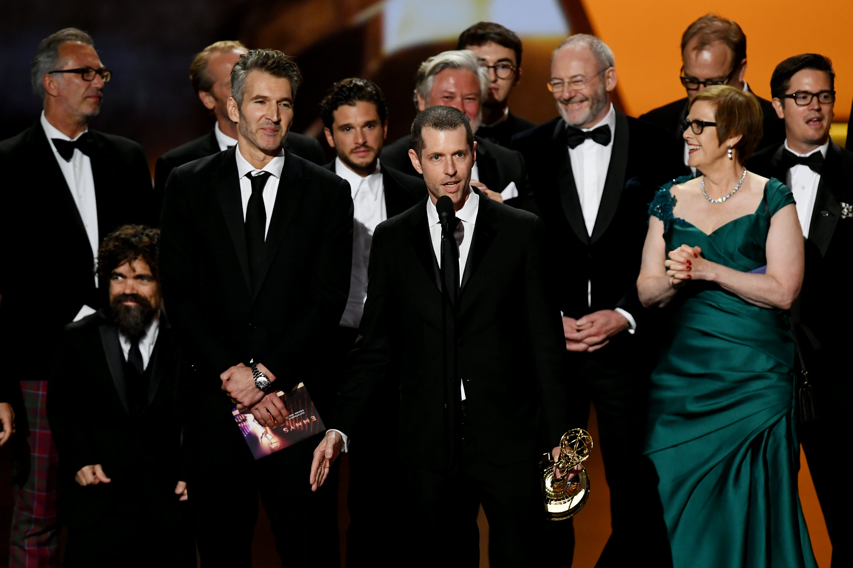 'Game of Thrones' ends run with outstanding drama award, 59 total Emmy Awards