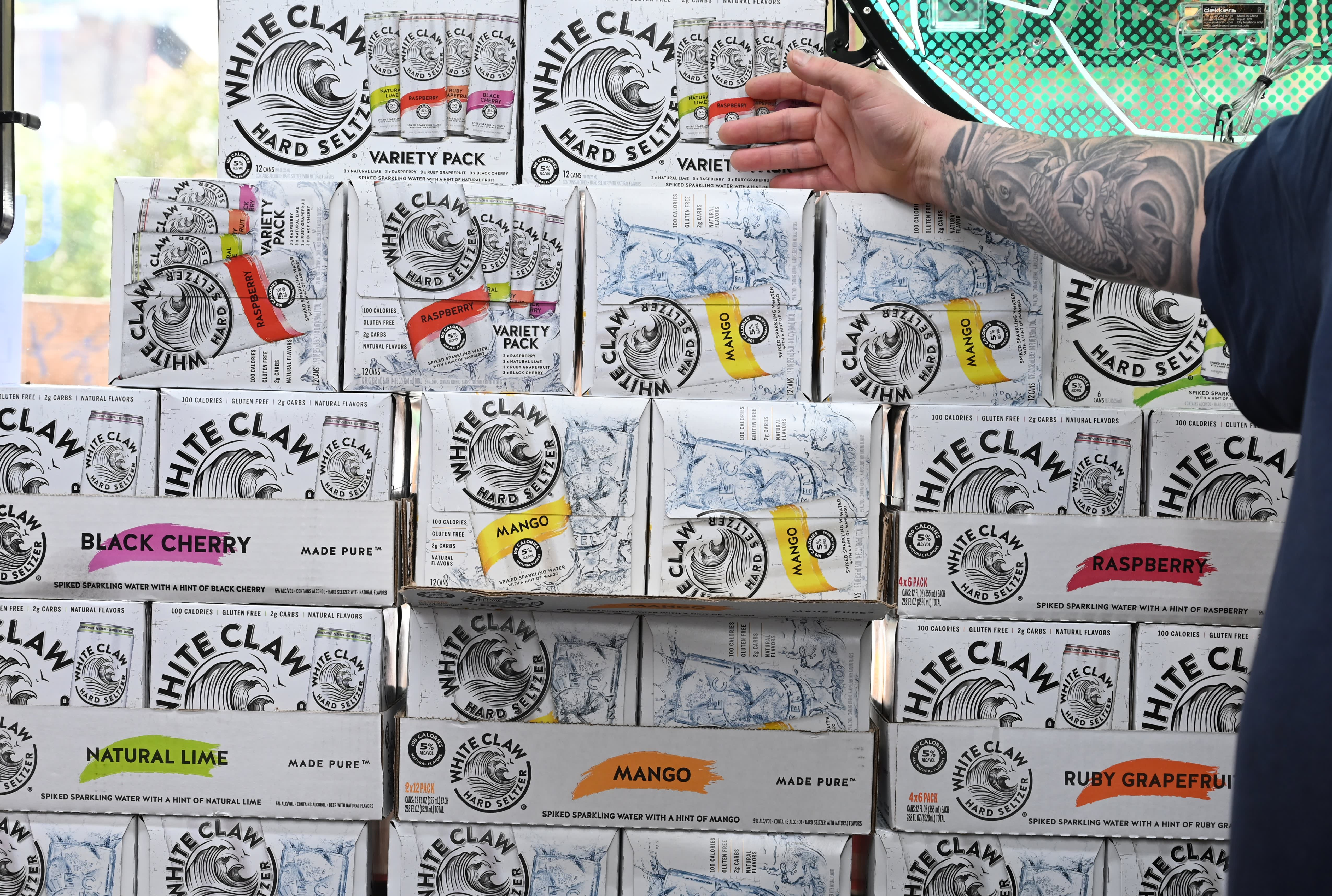 Buy Boston Beer because its spiked seltzer Truly is riding the White Claw wave, says Guggenheim