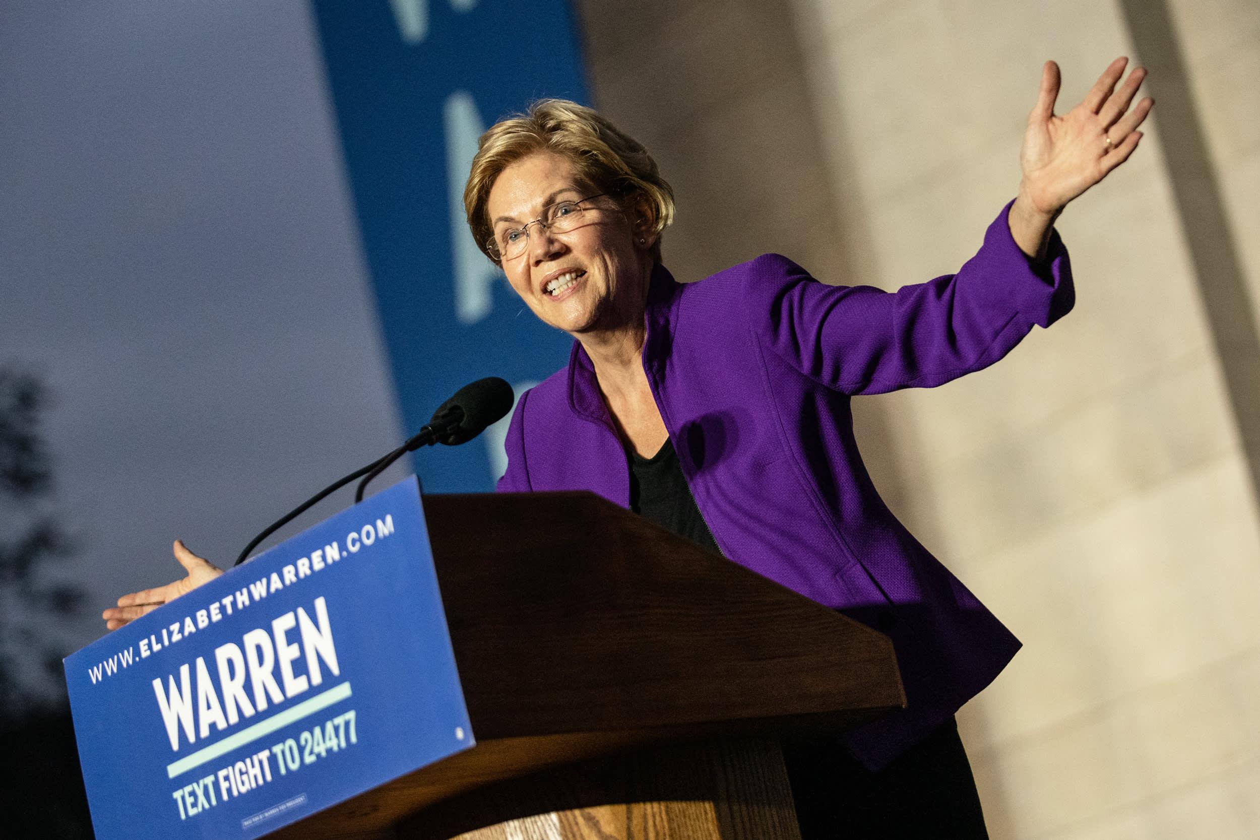 Elizabeth Warren's wealth tax could include a $1 million marriage penalty