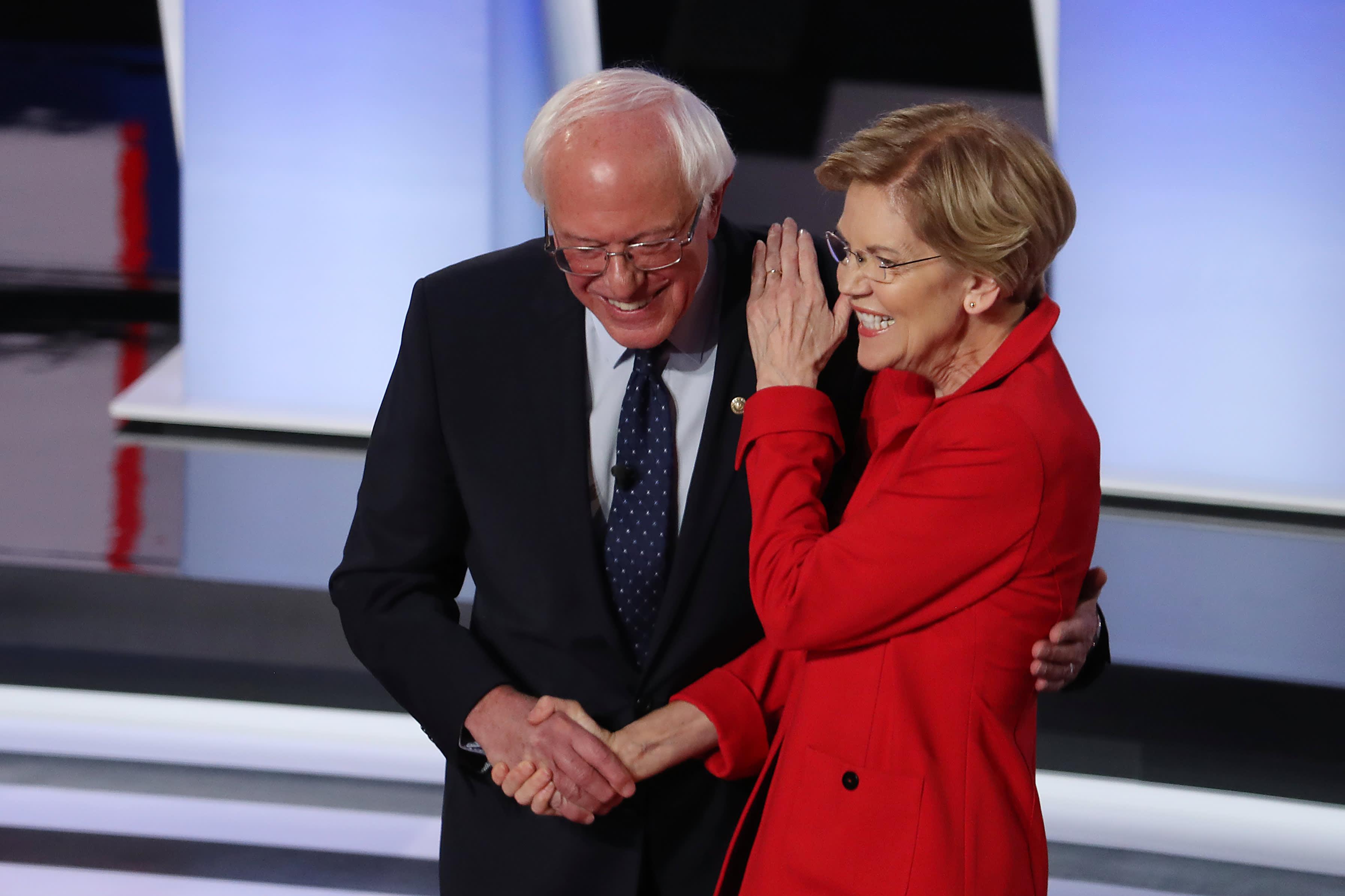 'Billionaires should not exist': Bernie Sanders tries to outdo Elizabeth Warren with tougher wealth tax proposal