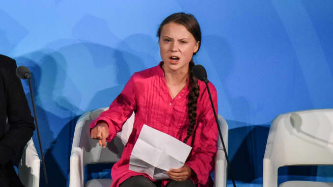 GP: Greta Thunberg World Leaders Gather For United Nations Climate Summit