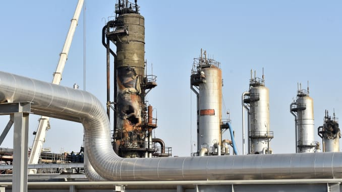 GP: Saudi Arabia oil processing plant damaged 190920