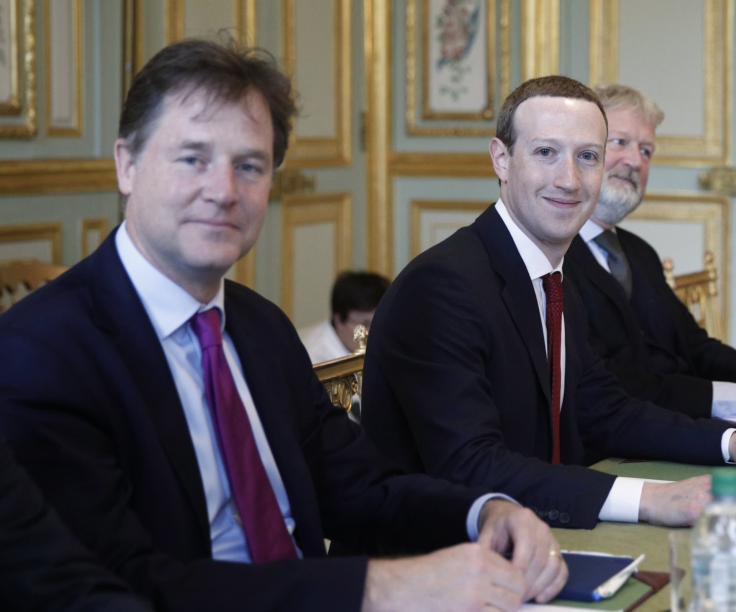 Op-ed: <b>Facebook's</b> Nick Clegg calls for bipartisan approach to break the deadlock on internet ... thumbnail