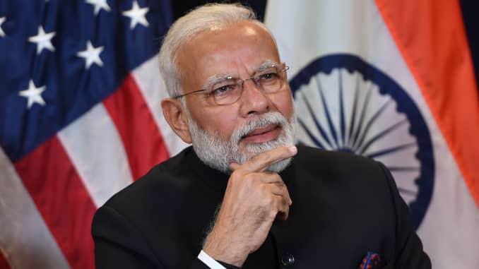 GP: Indian Prime Minister Narendra Modi UN-INDIA-DIPLOMACY