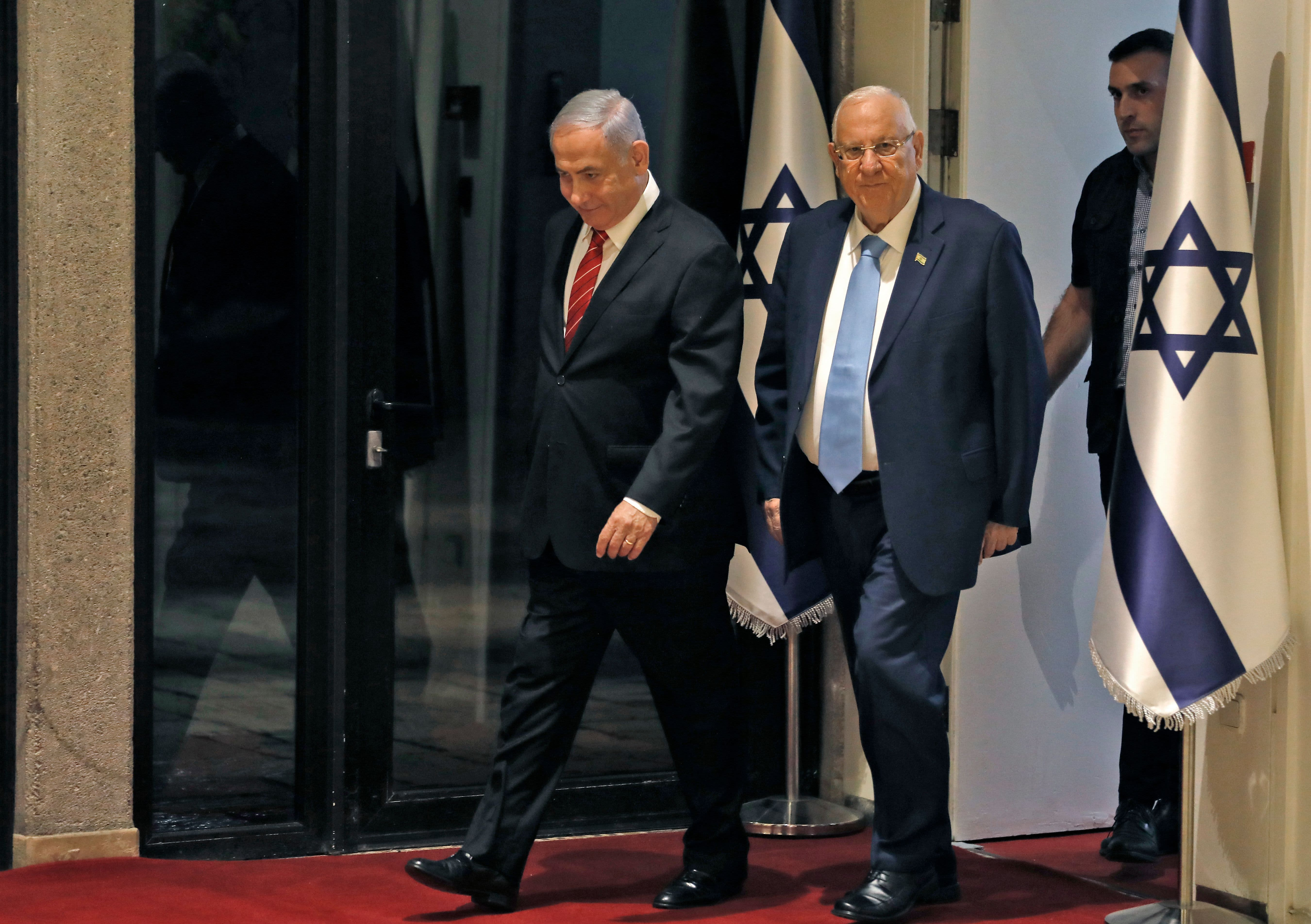 Netanyahu tapped by Israel's president to assemble new government