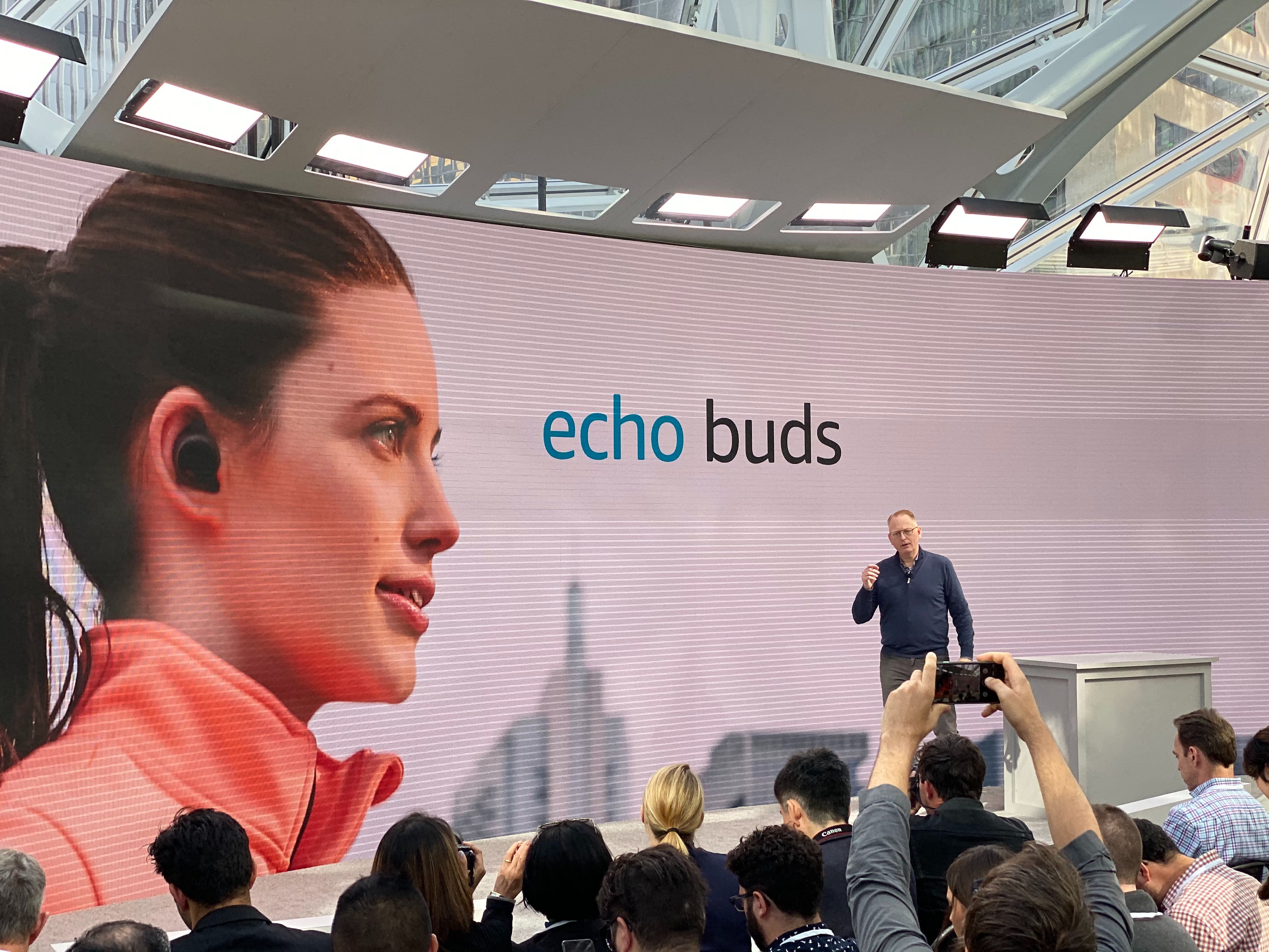 Amazon Echo Buds headphones might overheat while charging, so update the software, company warns