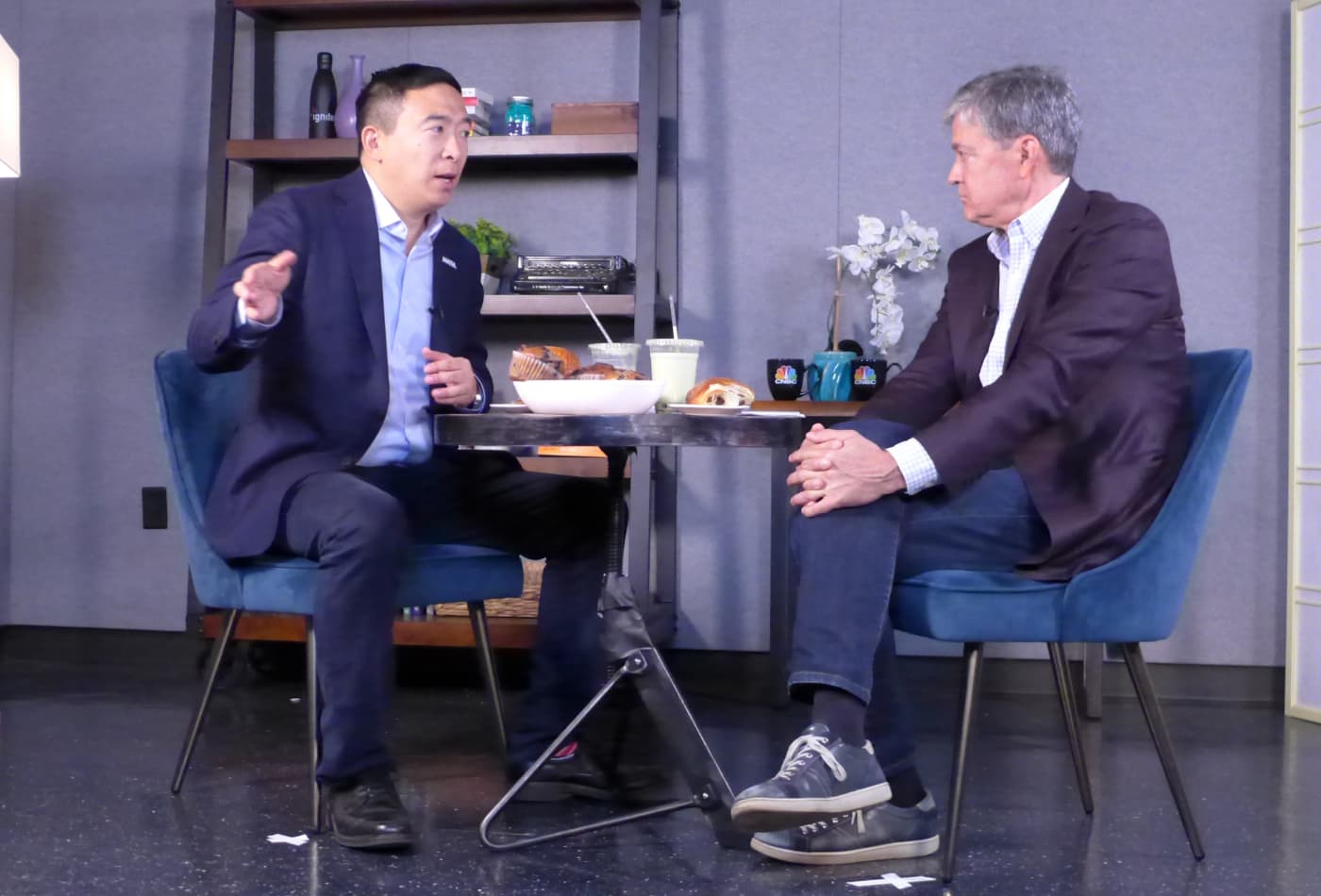 2020 candidate Andrew Yang: 'The fundamentals that we assume to be true about capitalism are now breaking down'