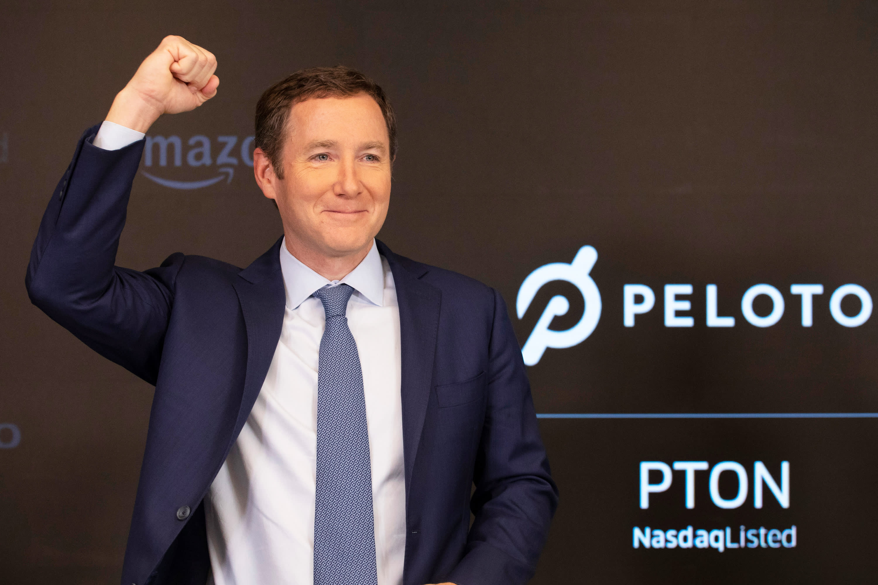 Peloton stock pops after reporting largest class ever