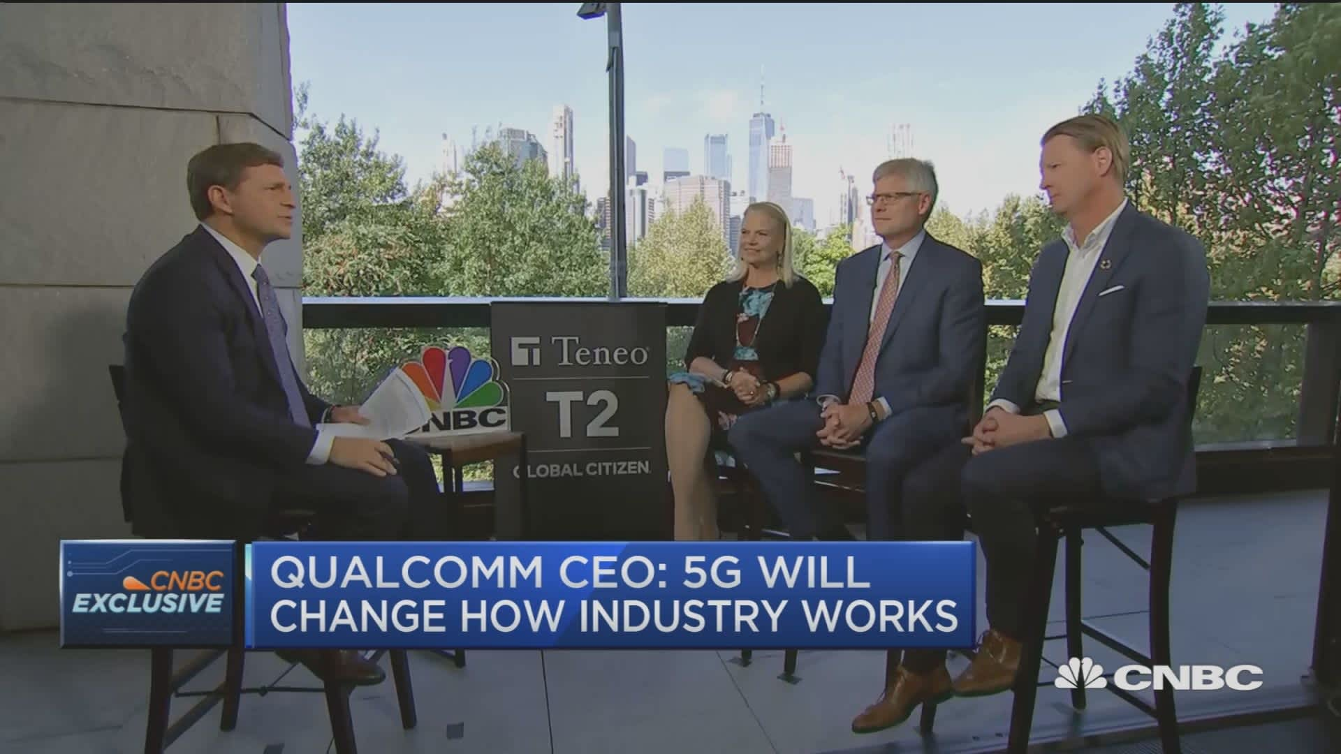 IBM, Verizon and Qualcomm CEOs sit down to discuss the future of 5G