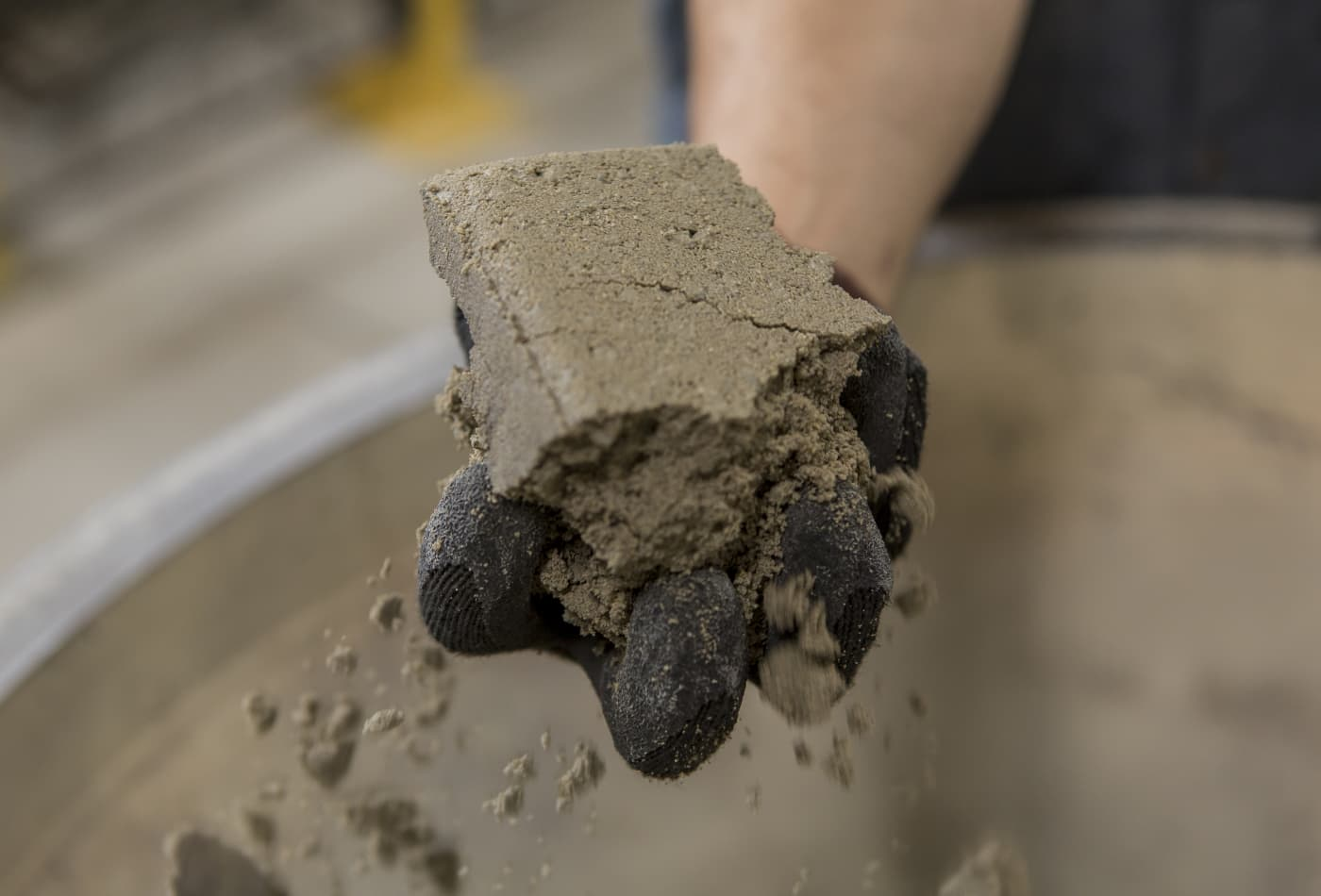 This green cement locks in carbon dioxide as it cures instead of releasing it into the air